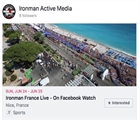 IRONMAN announce partnership with FACEBOOK for global live Programming