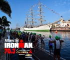 Defending Champ Kevin Collington returns to 70.3 Cartagena Colombia