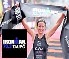 New mum on a mission leads international charge at 70.3 Taupo