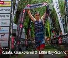 Ruzafa, Karaskova win XTERRA Italy-Scanno