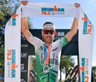 Lionel Sanders, Paula Findlay win 70.3 Indian Wells California
