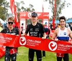 Strong running Max Neumann wins CHALLENGE SHEPPARTON, Ellie Salthouse leads from start to finish