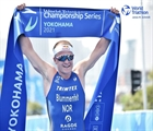 Blummenfelt hangs tough in Yokohama for season-opener gold