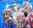 Triathlon action continues in Glasgow with Mixed Relay