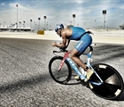 Andreas Dreitz 2nd place with a world record performance at Challenge Bahrain