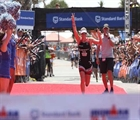 Trautman and Swallow take honors at 70.3 South Africa