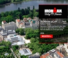 IRONMAN racing in a historic French spa town