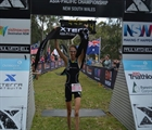 Lizzie Orchard goes 3-for-3 to win XTERRA Asia-Pac Champs