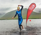 Collington, Wurtele win world's northernmost half distance race Challenge Iceland