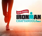 Liz Lyles leads the ladies at Little Debbie Ironman Chattanooga
